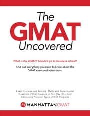 GMAT Uncovered ebook by Manhattan GMAT