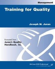 Training for Quality ebook by Juran, Joseph