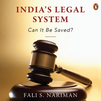 India's Legal System audiobook by Fali S. Nariman