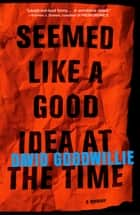 Seemed Like a Good Idea at the Time ebook by David Goodwillie