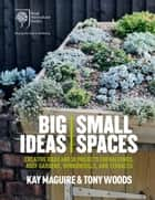 RHS Big Ideas, Small Spaces - Creative ideas and 30 projects for balconies, roof gardens, windowsills and terraces ebook by Kay Maguire, Tony Woods