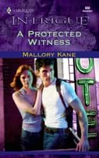 A Protected Witness ebook by Mallory Kane