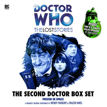 Second Doctor Box Set audiobook by Dick Sharples,adapted by Simon Guerrier