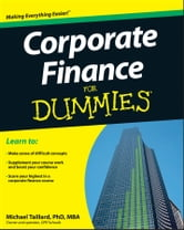 Corporate Finance For Dummies ebook by Michael Taillard