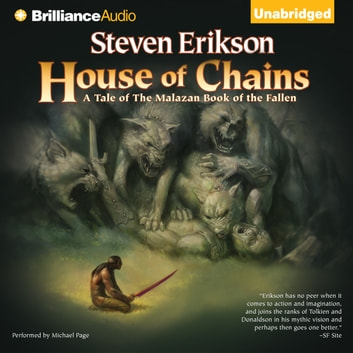 House of Chains audiobook by Steven Erikson