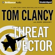 Threat Vector audiobook by Tom Clancy, Mark Greaney