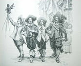 The Three Musketeers ebook by Alexandre Dumas, Père