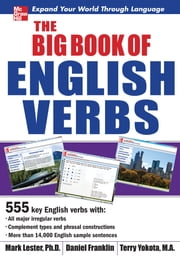 The Big Book of English Verbs ebook by Mark Lester,Daniel Franklin,Terry Yokota