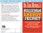 Dr Earl Mindell's Russian Energy Secret ebook by Earl Mindell RPh PhD,Donald R Yance CN MH