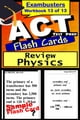 ACT Test Prep Physics Review--Exambusters Flash Cards--Workbook 13 of 13 - ACT Exam Study Guide ebook by ACT Exambusters