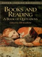 Books and Reading ebook by Bill Bradfield