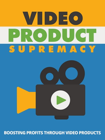 Video Product Supremacy ebook by Anonymous