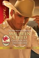 One Night, Two Heirs ebook by Maureen Child