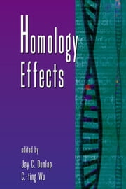 Homology Effects ebook by C-ting Wu,Jay C. Dunlap