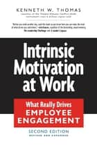 Intrinsic Motivation at Work ebook by Kenneth W. Thomas