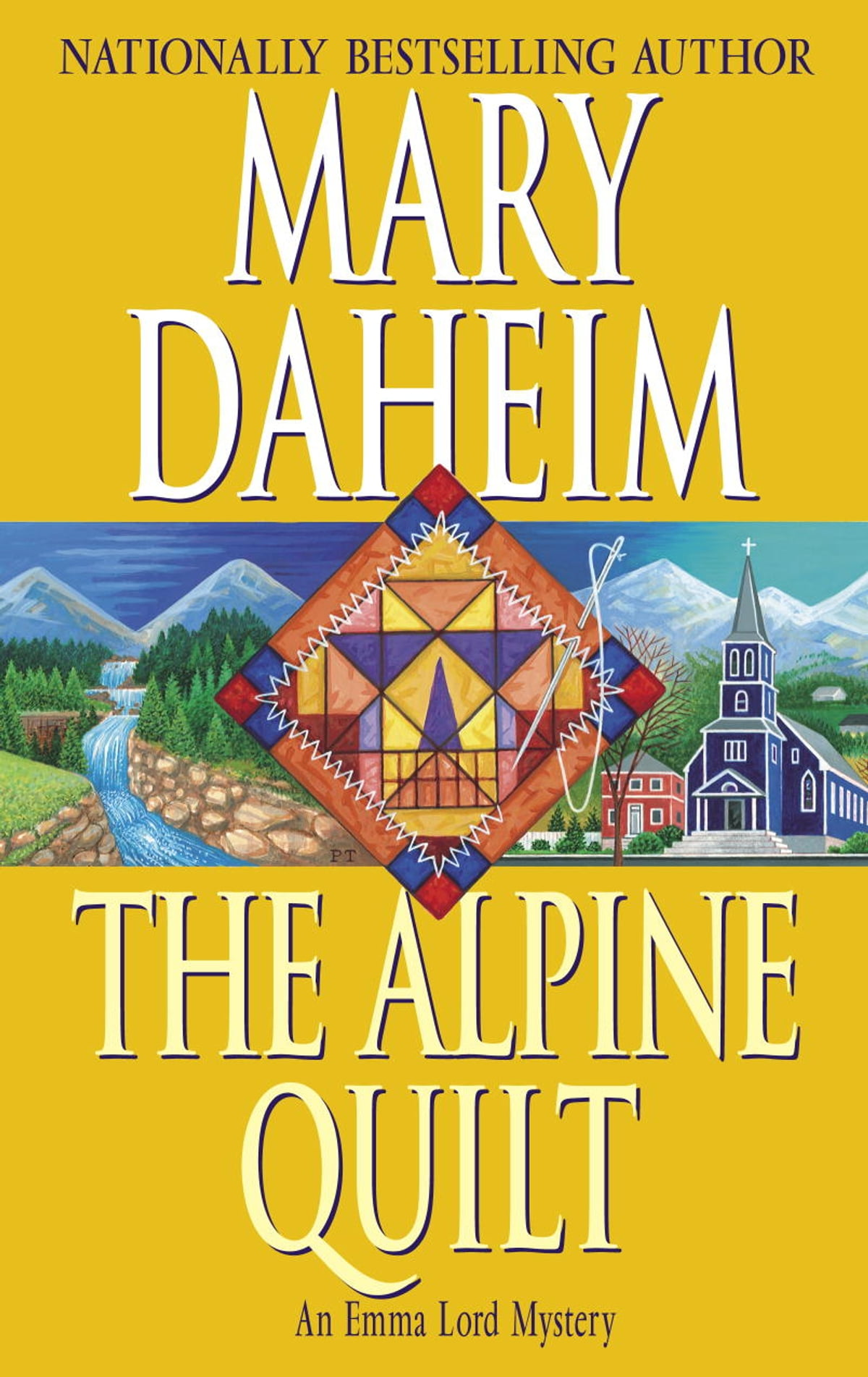The Alpine Quilt  An Emma Lord Mystery Ebook By Mary Daheim