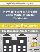 How to Start a Aerosol Cans Made of Metal Business (Beginners Guide) ebook by Dagmar Hurd