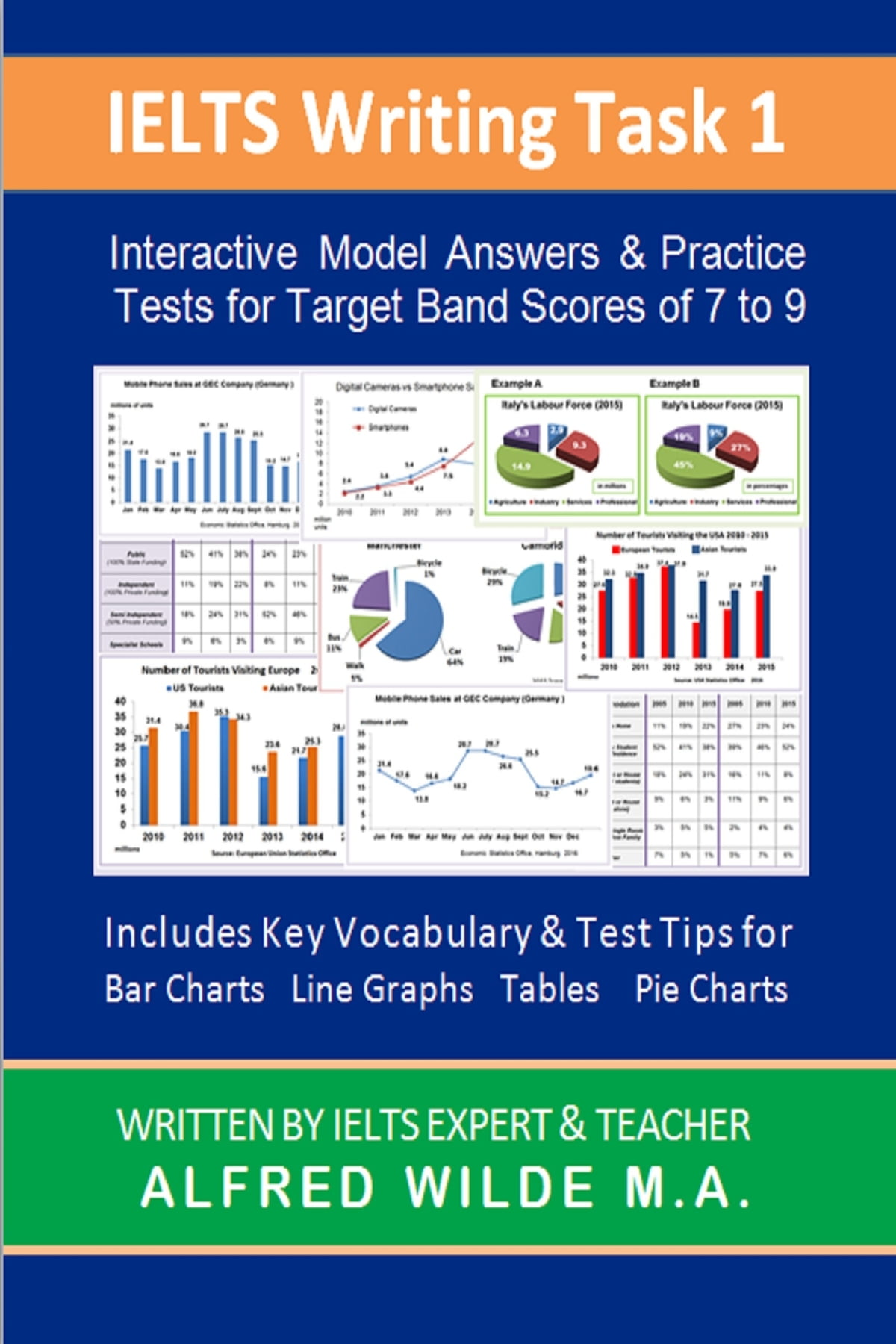 IELTS Writing Task 1 Interactive Model Answers, Practice Tests, Vocabulary  & Test Tips ebook by Alfred Wilde M A  - Rakuten Kobo