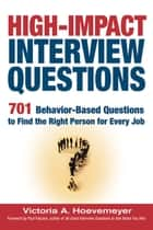 High-Impact Interview Questions ebook by Victoria Hoevemeyer