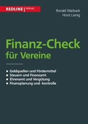 Finanz-Check für Vereine ebook by Ronald Wadsack, Ronald; Lienig Wadsack