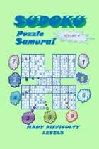 Sudoku Samurai Puzzle, Volume 4 ebook by YobiTech Consulting