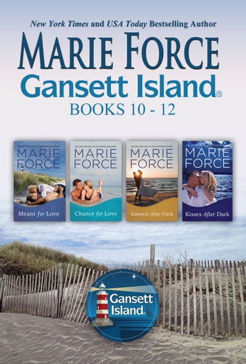 Gansett Island Boxed Set Books 10-12 ebook by Marie Force