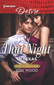 That Night in Texas ebook by Joss Wood