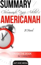 Chimamanda Ngozi's Americanah Summary ebook by Ant Hive Media