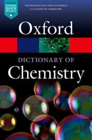 A Dictionary of Chemistry ebook by Richard Rennie,Jonathan Law