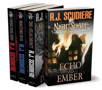 The NightShade Forensic Files: Vol 1 (Books 1-4) - Under Dark Skies, Fracture Five, The Atlas Defect, Echo and Ember ebook by A.J. Scudiere