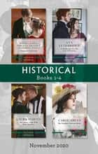 Historical Box Set 1-4 Nov 2020/Christmas Cinderellas/A Shopkeeper for the Earl of Westram/One Snowy Night With Lord Hauxton/The Viscount's Yu ebook by