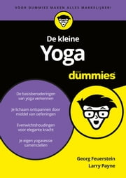 De kleine Yoga voor Dummies ebook by Georg Feuerstein, Larry Payne