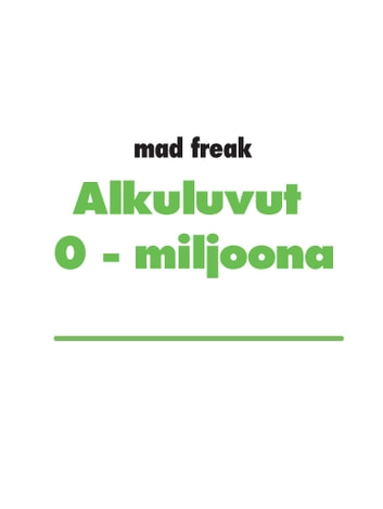 Alkuluvut 0 - 1 miljoona ebook by mad freak