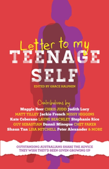 Letter to My Teenage Self ebook by Grace Halphen