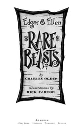 Rare Beasts ebook by Charles Ogden
