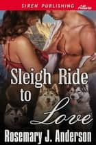 Sleigh Ride to Love ebook by Rosemary J. Anderson