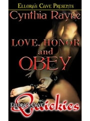 Love, Honor and Obey ebook by Cynthia Rayne