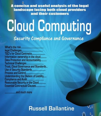Cloud computing ebook by russell ballantine 9781618429971 cloud computing security compliance and governance ebook by russell ballantine fandeluxe Images