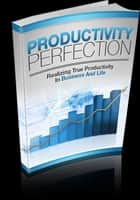 Productivity Perfection ebook by Anonymous