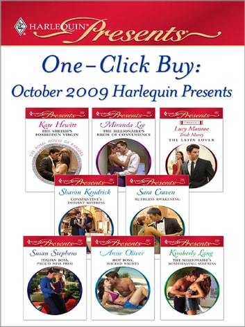 One-Click Buy: October 2009 Harlequin Presents ebook by Kate Hewitt,Miranda Lee,Sharon Kendrick,Sara Craven,Susan Stephens,Anne Oliver,Kimberly Lang