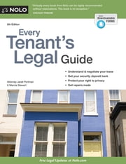 Every Tenant's Legal Guide ebook by Janet Portman, Attorney,Marcia Stewart, Attorney