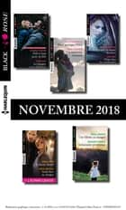 10 romans Black Rose + 1 gratuit (n°504 à 508 - Novembre 2018) eBook by Collectif