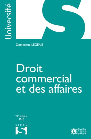 Droit commercial et des affaires ebook by Dominique Legeais