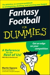 Fantasy Football For Dummies ebook by Martin Signore