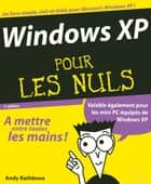 Windows XP Pour les nuls ebook by Andy RATHBONE