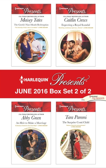 Harlequin Presents June 2016 - Box Set 2 of 2 - An Anthology 電子書 by Maisey Yates,Abby Green,Caitlin Crews,Tara Pammi