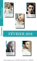 10 romans Blanche (nº1351 à 1355 - Février 2018) ebook by Collectif