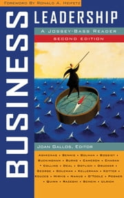 Business Leadership - A Jossey-Bass Reader ebook by Joan V. Gallos