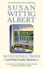 AN Unthymely Death ebook by Susan Wittig Albert