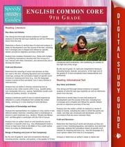 English Common Core 9th Grade (Speedy Study Guides) ebook by Speedy Publishing